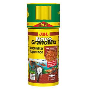 JBL-Novogranomix-Click-250-Ml-Granulat-Hauptfutter-for-Small-Aquarium-Fish