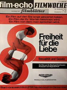 film-echo filmwoche Nr.95 (1969) Freiheit für die Liebe
