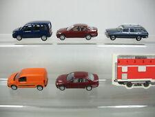 AB55-0,5# 5x Busch H0 Modelle Mercedes-Benz MB: Citan, W 123, C-Klasse, TOP