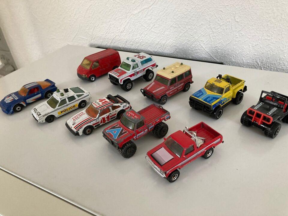 Modelbil, Matchbox made in Macau Forskellige modeller