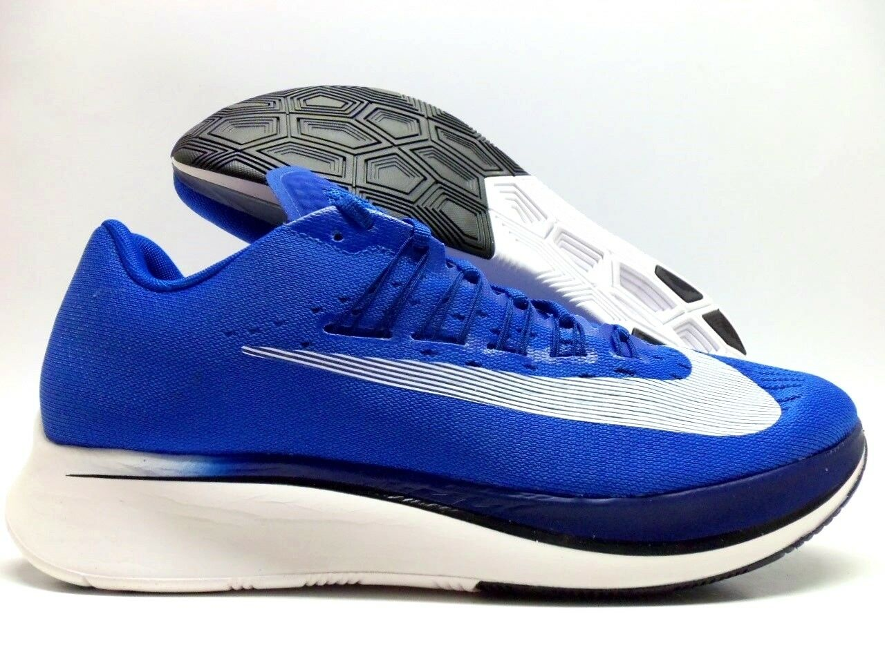 NIKE ZOOM FLY HYPER ROYAL WHITE SIZE MEN'S 9 [880848-411]