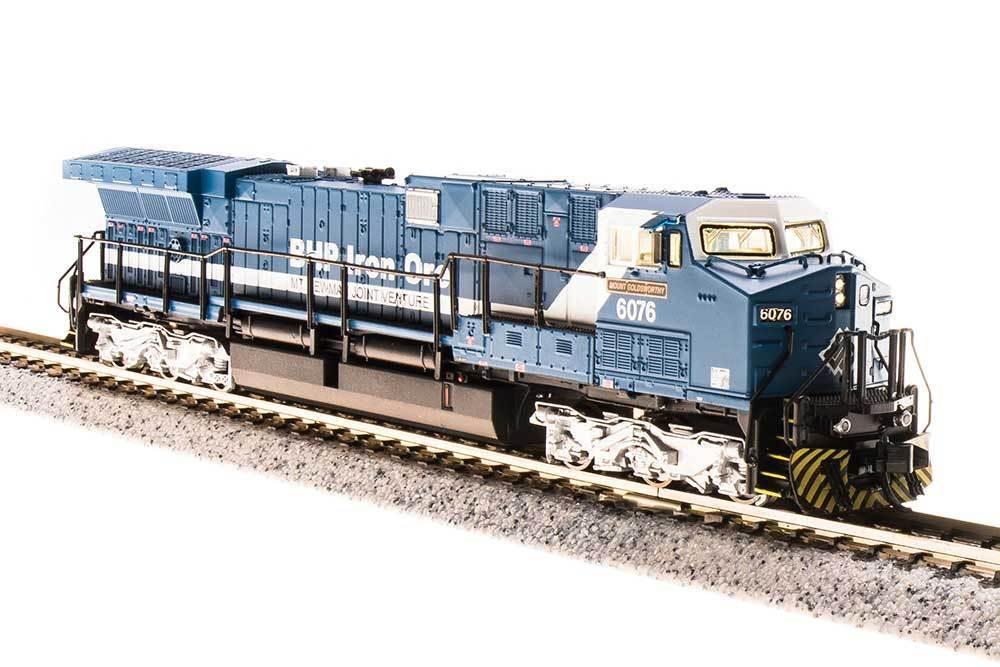 Scala N - Locomotiva Diesel Taggati AC6000 Bhp Iron Minerali con DCC e SUONO