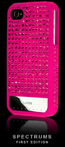 NEW-Lucien-Elements-SPECTRUMS-PINK-iPhone-4-4S-Case-Swarovski-Crystals