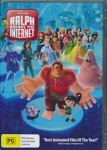 Ralph-Breaks-The-Internet-DVD-NEW-Region-4
