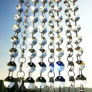 Acrylic Crystal Garland Strand Chain Hanging Diamond Bead//Tree Decoration