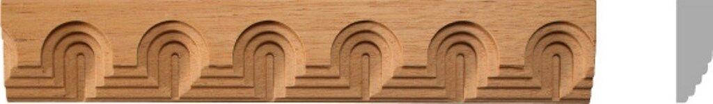 1-3 8 W x 4FT, 10pc, Total 40ft. Beech Wood Moulding Trim Molding Corbel, MB870