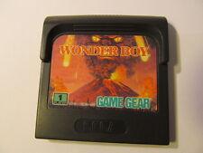 SEGA GAME GEAR WONDER BOY   (cartridge only)