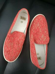 NWOB-Ash-Red-Illusion-Sneakers-Size-5