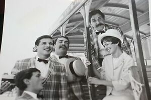 Disneyland-1966-Walt-Disney-PHOTO-Dapper-Dans-VIP-Hostess-Tour-Guide-Dee-Higby