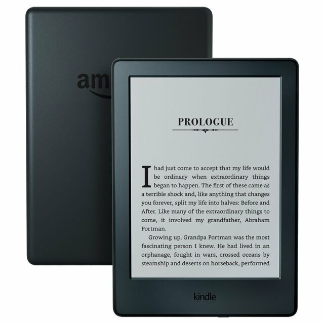 "Kindle Basic E-reader - Black, 6"" Glare-Free Touchscreen Display, Wi-Fi New"