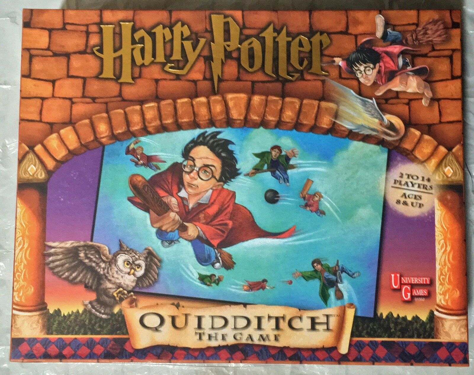 NEAR-NEW Collectible Harry Potter Quidditch Board Game
