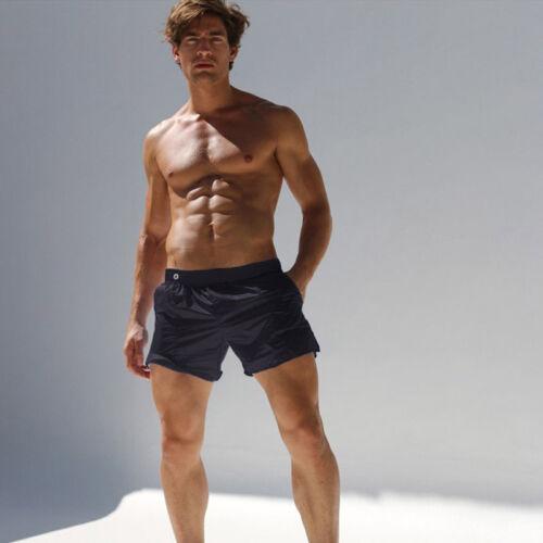 Fashion Sweatpants Men/'s Translucent Shorts Casual Men Beach Swimming Trousers