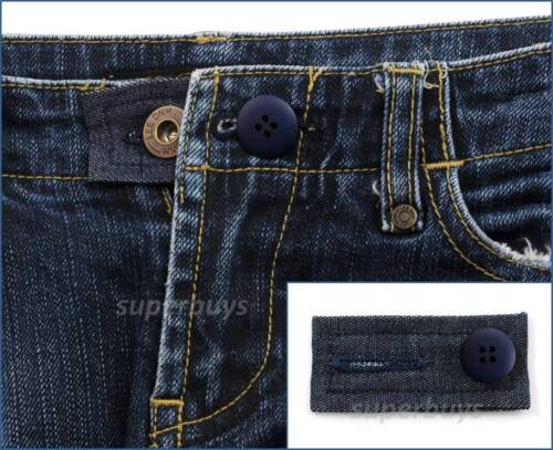 Waist Extension Pants Shorts Jeans Trouser Widen Expand Loosen Line Button MC