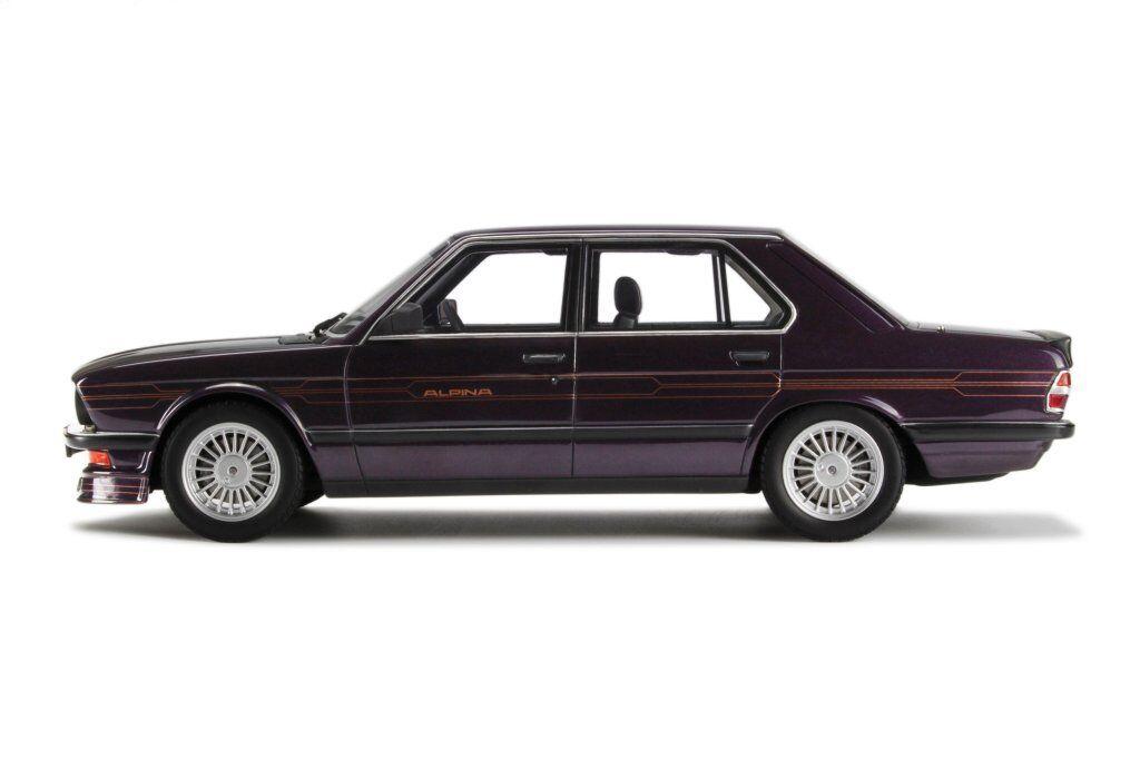 BMW 5er M5 E28 Alpina B7 Limousine Blue 1981-1987 No 633 1//18 Otto Model Car