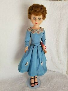 Collectible-Doll-1950-039-s-Twist-amp-Turn-Doll-with-Original-Clothes