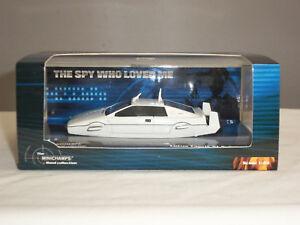 James Bond Oo7 Spy Minichamps qui m'a aimé blanc voiture sous-marine Lotus Esprit