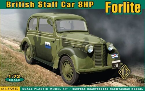Neu ACE 72513-1:72 Forlite British staff car 8HP
