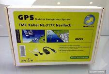 Navilock NL-317R RDS, TMC Kabel mit KFZ Adapter für NaviLock Navi Systeme, NEU