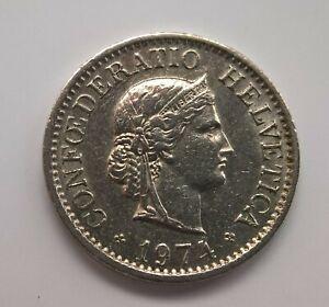 6 Helvetia Vintage Coins