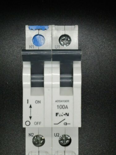 Eaton ADSN 100R 100A Doble Polo Interruptor-seccionador
