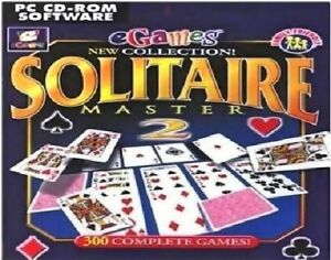 Solitaire-Master-2-Pc-New-Cd-Rom-Sealed-In-Paper-Sleeve-XP