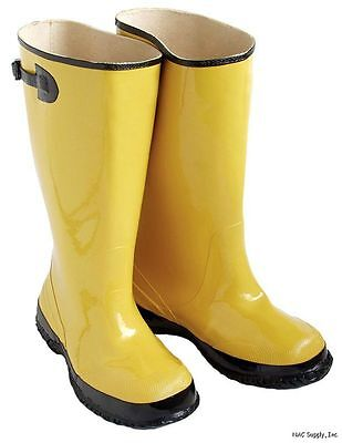 CLC Size 17 Yellow And Black Over The Shoe Slush Boot R20017