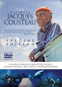 The-Ultimate-Jacques-Cousteau-Collection-21-DVD-Deep-Sea-Marine-Scuba-Diving-New