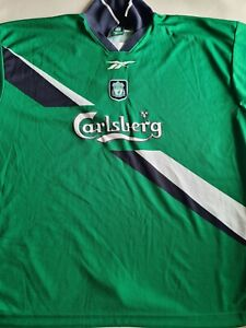 Liverpool Away football shirt 1999 - 2000 jersey kit XL