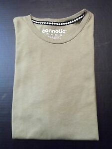 Connetic-Mens-Tee-Size-Large-Green-Mainland-Skate-Short-Sleeve-Basic-T-Shirt
