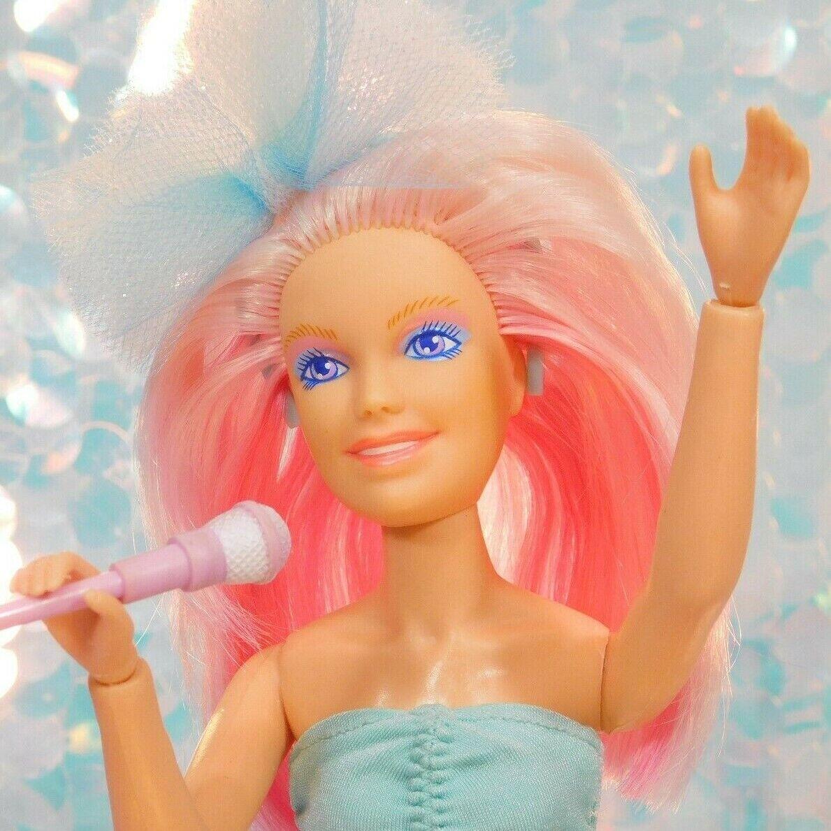 JEM & the Holograms JERRICA Doll COMMAND PERFORMANCE Kleid Alternate Rehair H220