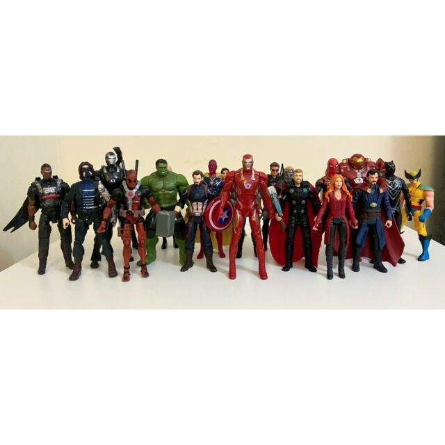 """12/"""" Avengers Figures Black Panther Thanos Hulk Thor Captain And All Others"""