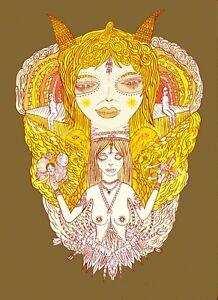 Men/'s Ladies T SHIRT cool festival art Psychedelic Space Cadet hippy party rave