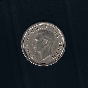 New Zealand - 1948, Threepence - King GEORGE VI