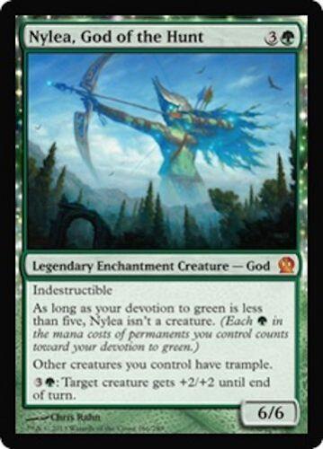 Nylea God of the Hunt MTG Theros Mythic Rare EDH Legend
