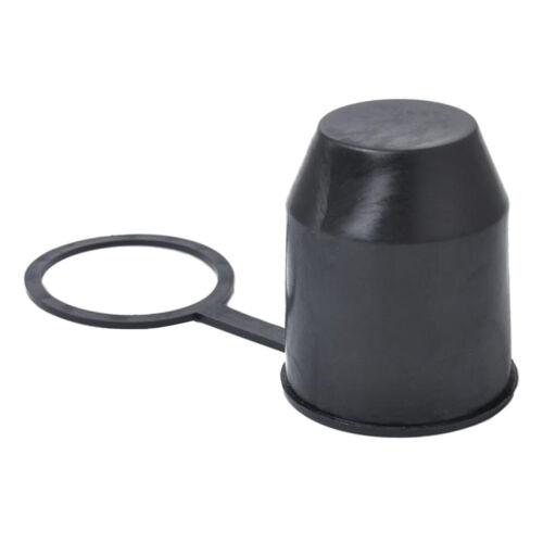 Schwarz Ball Abdeckkappe Anhängerkupplung Abdeckung Schutzkappe für Kugelkopf