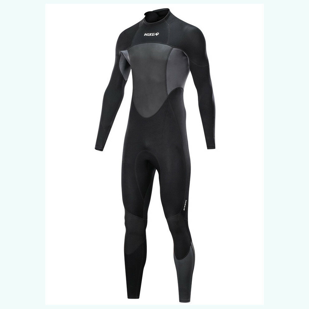 Hisea 1.5mm Neoprene Diving suit Men Long Sleeve Snorkeling Jellyfish Wet Suit