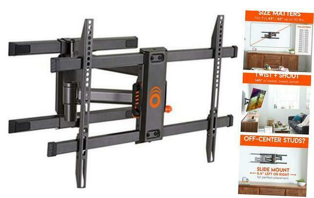 Full Motion Articulating TV Wall Mount Bracket for TVs Up to New & Improved. Available Now for 131.30