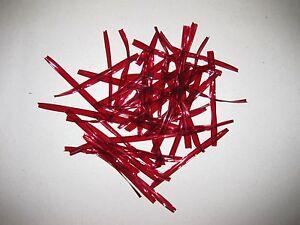 Liens De Fermeture Rouge Pour Sachet Sac Bonbon Confiserie Accessoire ... Neuf Alnul8my-08002523-921268868