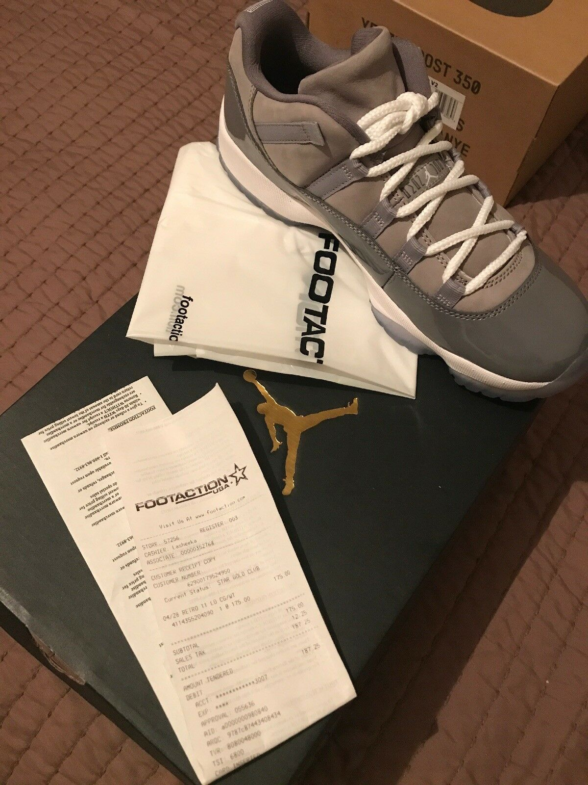 Air Jordan 11 Cool Grey Size 9 BNIB w receipt