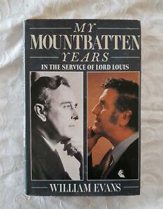 My-Mountbatten-Years-by-William-Evans-HC-DJ-1st-Edition-Illustrated