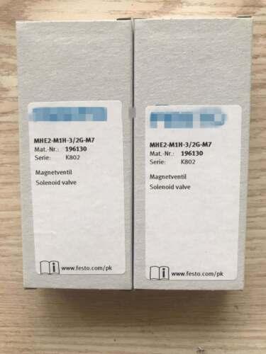 Un Pour FESTO électrovanne MHE2-M1H-3//2G-M7 196130