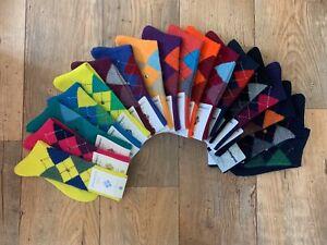 Burlington-Mens-Preston-Argyle-Socks