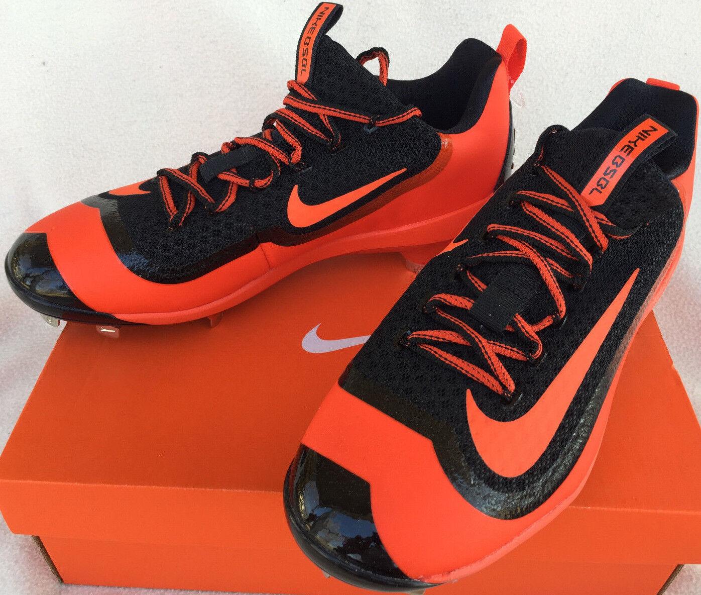 Nike Air Max Huarache BSBL 819137-080 Metal Baseball Cleats shoes Men's 8.5 MLB