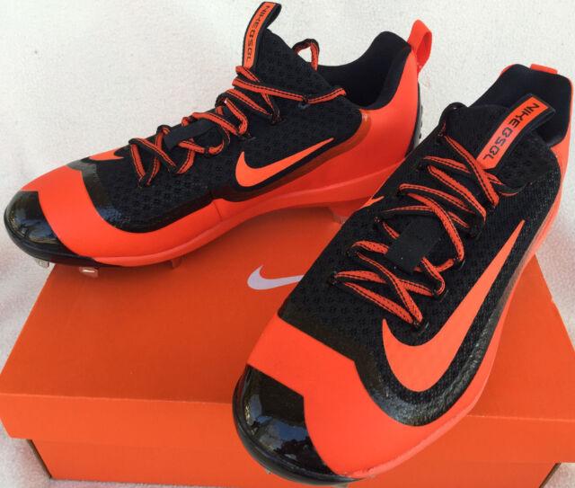 5ddcb99ede99 Nike Air Max Huarache BSBL 819137-080 Metal Baseball Cleats Shoes Men's 8.5  MLB
