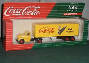 Cococola 1991 Semi Tractor Truck Vintage Hartoy Inc New In Box