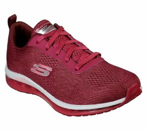 Mesh-Skechers-Shoes-Womens-Raspberry-Memory-Foam-Sport-Air-Cushion-Comfort-12644