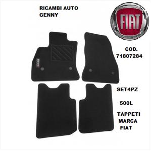 TAPPETI-MOQUETTE-ORIGINALI-FIAT-NUOVA-500-L-ANT-POST-71807284