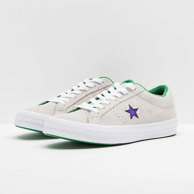 Converse Mens One Star Ox Grand Slam Suede 160592C WhiteCourt PurpleGreen   eBay