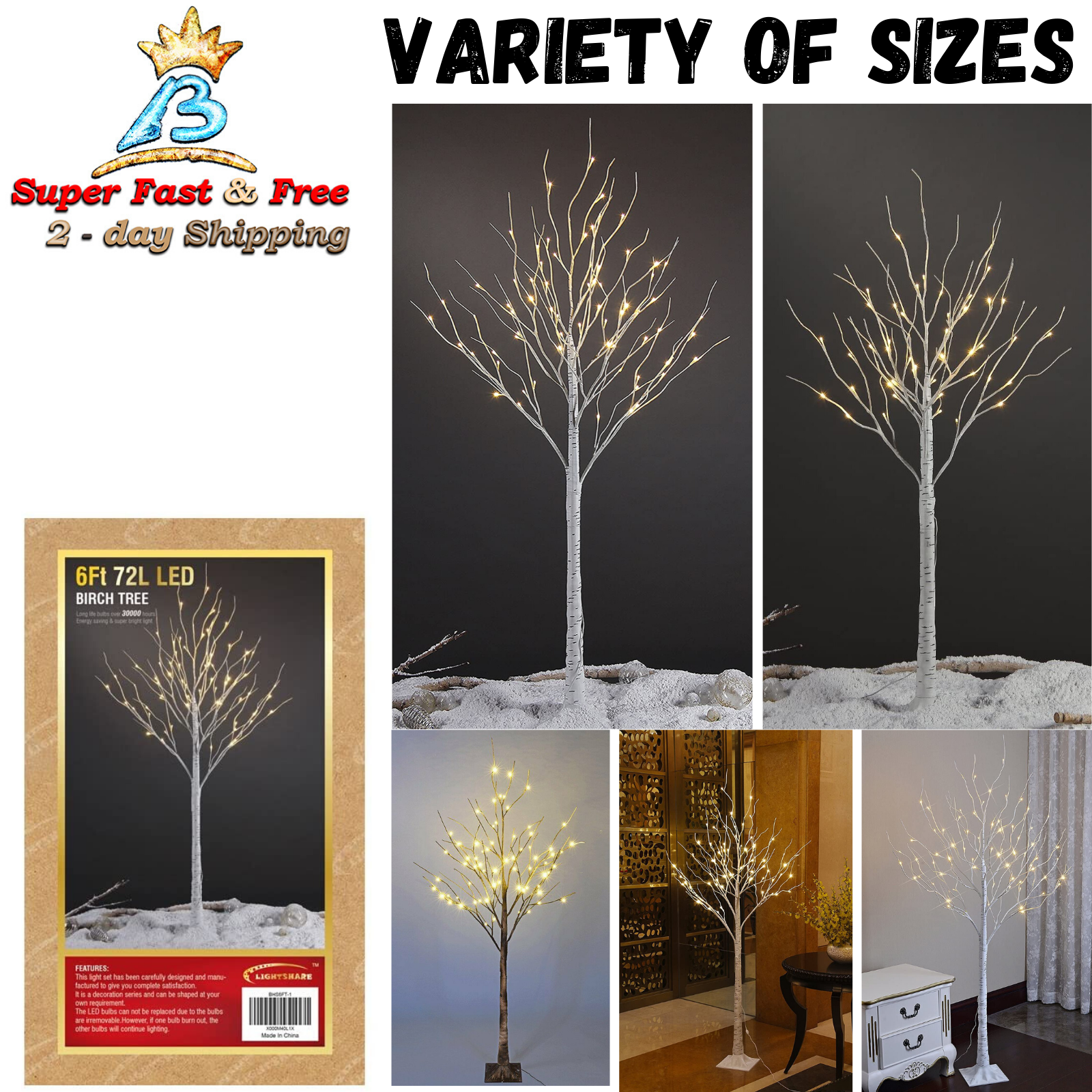 Real Birch Trees For Decorating  from i.ebayimg.com
