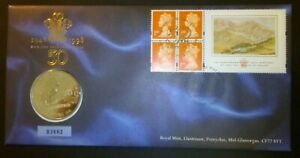 GB-1998-Prince-Of-Wales-Birthday-PNC-Cover-5-Coin-Brilliant-Uncirculated-BU